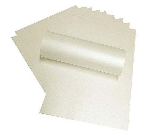 Syntego 100fogli di carta A4quarzo pallido avorio perlaceo doppio lato-120g per stampanti laser e a getto d' inchiostro