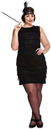 Flapper Girl Plus Size Fancy Dress Costume ()