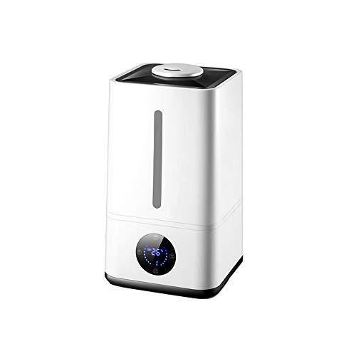Qi Tai - Humidificador de aire del hogar Humidificador de aire, humidificador de aire doméstico de gran capacidad, silencioso, purificador de aire por atomización con aroma ultrasónico, cierre automát