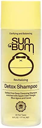 Sun Bum Revitalizing Detox Shampoo | Vegan and Cruelty Free Moisturizing and Deep Cleansing Hair Wash with App