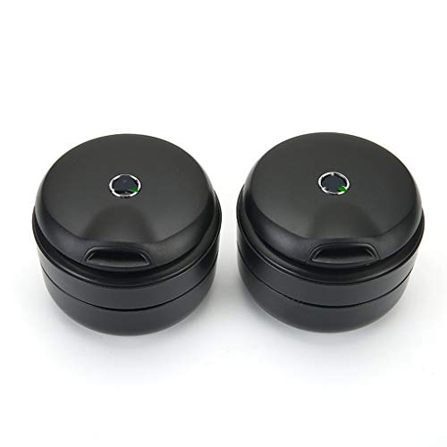 Car ashtray Passend für Mercedes-Benz High-End-Auto-Aschenbecher kann die neue C-Klasse C200L E-Klasse GLC-Lampe dieselbe Ascher-Aufbewahrungsbox im 4S-Shop abdecken (größe : B)