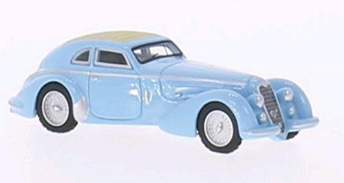 Preisvergleich Produktbild Alfa Romeo 8C 2900 B, hellblau, RHD, 1938, Modellauto, Fertigmodell, BoS-Models 1:87
