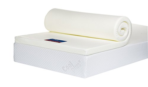 Bodymould Memory Foam Mattress Topper with Cover, 2 inch - European Double 2