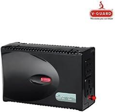 V-Guard VG Crystal Voltage Stabilizer for Television (Black)
