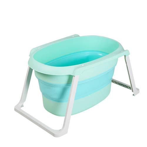 Dwhui Faltbare Kinder Badewanne Babybadewanne Thicken Kinderbad Wanne Kann Baby Wanne Sitzen