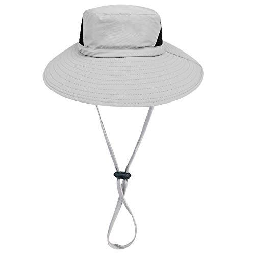 Sonnenhut im Freien - 50UV Sonnenschutz Mit Breiter Krempe Nylonhut - Schnell Trocknender Sommerhut Zum Angeln Wandern Camping Bootfahren - Dracarys