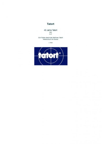 Tatort A-Z [Kindle-Edition]
