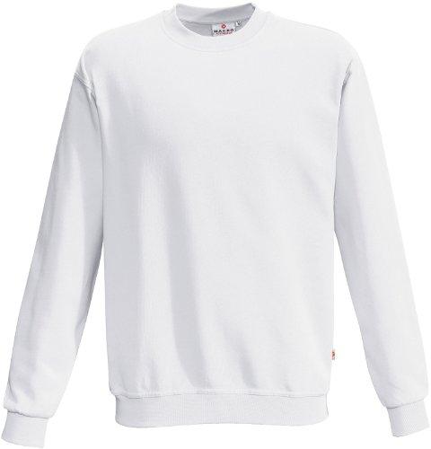 """HAKRO Sweatshirt """"Premium"""" - 471 - weiß - Größe: M (Weiß-polyester-mischung)"""