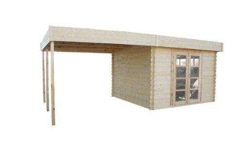 Chalet & Jardin - Abri de jardin bois- pergola 18m2- 28mm \\
