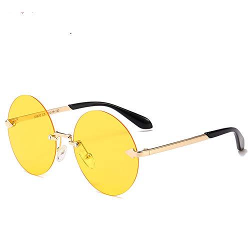 Sonnenbrillen Anti-UV-Metall Sonnenbrillen Schatten Licht Qualitätsmaterial, geeignet für Reisen und Autofahren