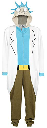 Rick and Morty Rick Jumpsuit Multicolour S
