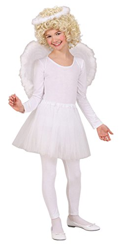 WIDMANN 1934A - Kinderkostümset Engel, Heiligenschein, Flügel und Rock, 3-teilig