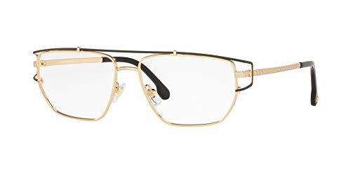 Ray-Ban Herren 0VE1257 Brillengestelle, Schwarz (Gold), 55.0