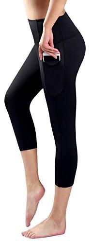 7287d4da833b2b Sugar Pocket Womens Outdoor Capris Fitness Tights Leggings Walking Running  Yoga Pants M