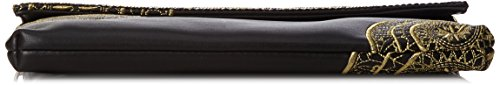 Desigual Bols_naila Bling Oriental. 2000. U - Donna, Nero (Negro), 2x18.5x27 cm (b x h t)