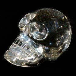 Cristal de Quartz Tête de Mort ~ (40-45 mm)