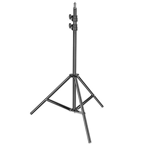 Neewer Heavy Duty Licht Ständer, 92–190 cm verstellbar Lampenstativ für Reflektoren, Softboxen, Beleuchtung, Schirme mit 8 Kilogramm Tragkraft