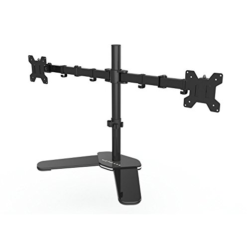 Suptek Fully Adjustable Dual Arm LCD LED Monitor Stand Desk Mount Bracket for 13