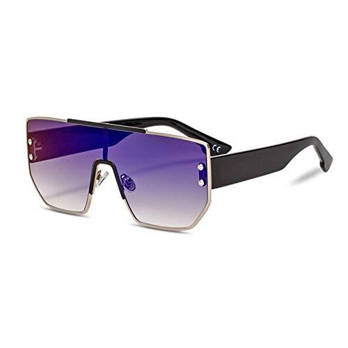 YLNJYJ Sonnenbrillen Promi Sonnenbrille Männer Frauen Mode Shades Uv400 Vintage Brille