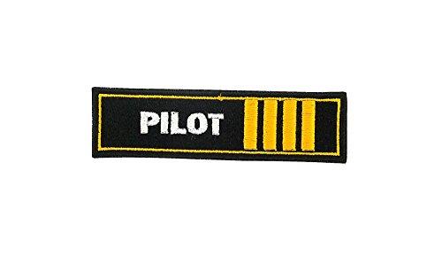 Air Force Applique (Gestickte Applikation, Schulterklappe, Marine, Luftfahrt, Pilot, Schiff, Flugzeug, Rangabzeichen)
