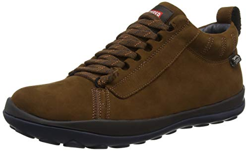 Camper Peu Pista, Botas Hombre, Marrón Medium Brown