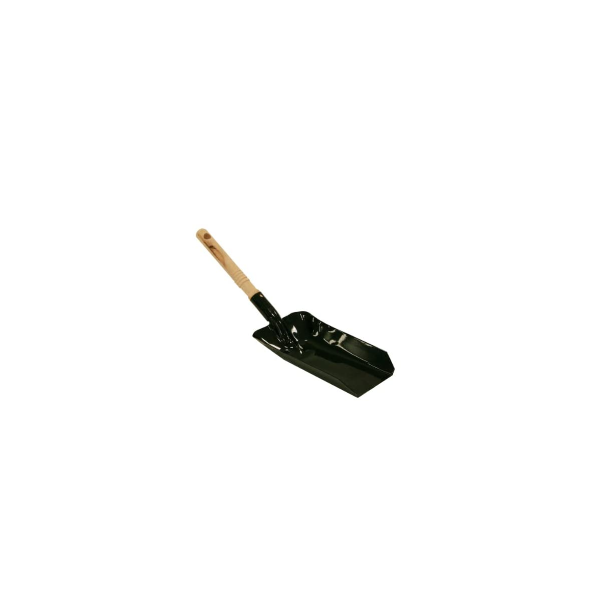 31IQYxmkoyL. SS1200  - Kamino-Flam - Pala con mango para chimenea, Pala de carbón, Recogedor para estufas, barbacoas, chimeneas - metal barnizado/madera natural de alta calidad, 23,5 x 12,5 cm