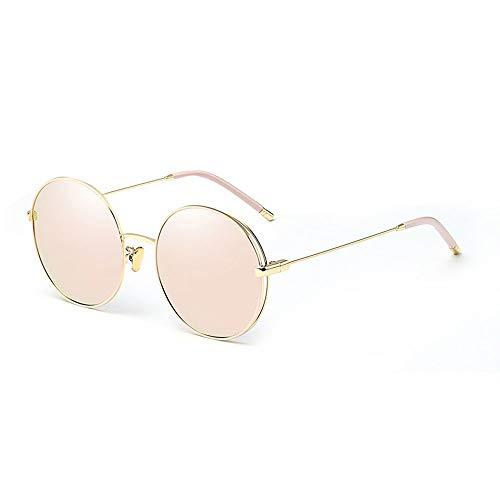 Szblk Mode Sonnenbrillen 100% UV Polarisierte Sonnenbrillen Outdoor Sonnenbrillen Gold Frame Pink Tablets (5.43in * 5.47in * 2in)