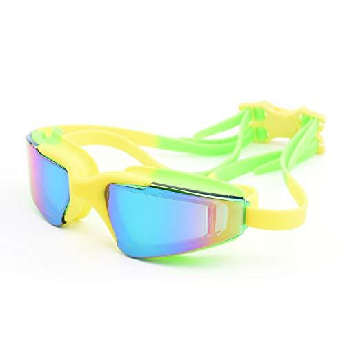 Schwimmbrillen für Erwachsene Kinder,Bestes Non Undichte Anti-Fog UV-Schutz Clear Vision Schwimmbrillen   Männer Frauen Erwachsene Schwimmbrille - Best dichtSchwimmbrille