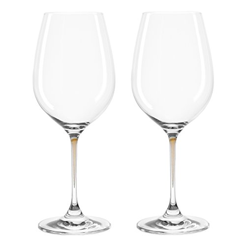 Leonardo 018966 Weinglas/Weißweinglas - LA Perla - Marrone/braun - 2 teiliges Set