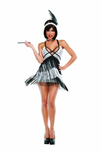 Women's Boardwalk Flapper Fancy dress costume Medium