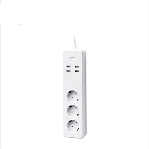 Smart Power Strip Smart Socket Mini Smart Plug WiFi Enabled Remote Control Desde Cualquier Lugar WiFi Networks Power Switch Aplicación Función De Temporización Regulación De Europa
