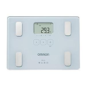 OMRON BF212 – Báscula de baño digital con análisis de composición corporal, porcentaje de grasa corporal, IMC, memoria para 4 personas