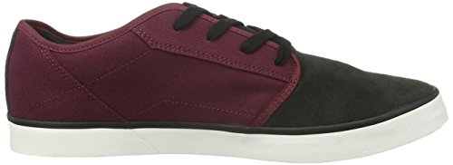 Volcom Grimm 2 Shoe, Chaussures de Skateboard homme Rot (Deep Red)