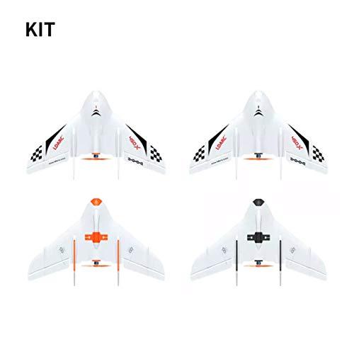 LouiseEvel215 Feste 450X Flügel FPV Spannweite KIT Mit Flight Control Remote-Glider-Fernbedienung Modell Flugzeugflügel (Control Modell-flugzeuge Radio)
