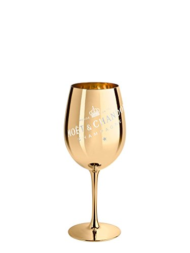 Moet & Chandon Imperial Champagner Echtglas Ibiza (Gold)