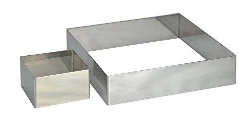De Buyer Rahmen, Edelstahl, Silber, 27.9 x 20.1 x 10.9 cm
