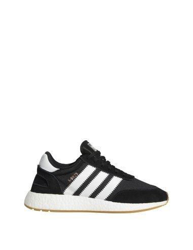 adidas Iniki Runner, Sneakers Basses Homme, Rouge (Red/Footwear blanc/Gum), 42 EU