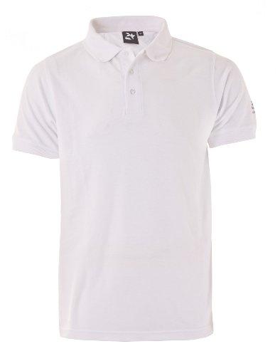 Twentyfour Polo Motion-Shirt Weiß