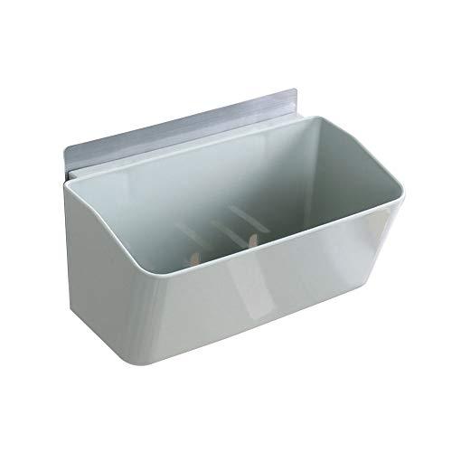 BHDYHM Dusche Caddy Ablagekorb Wandhalterung Küche Kunststoff Veranstalter Regal Box Regal oder unter Waschbecken - Freistehend, (Blau) -