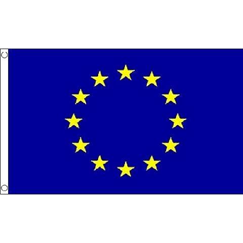 Große 8ft X 5ft europäischen Union Euro blau Star Polyester