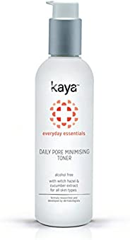 Kaya Clinic Daily Pore Minimising Toner, Face toner with Witch Hazel extracts for minimised and clean pores, 2