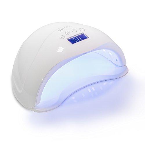 Härtungsgerät - Nagel Lampe mit 4 Timer und LCD Display