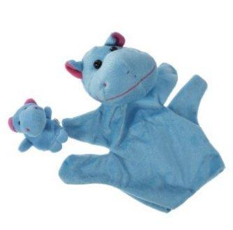 f-eshion Cartoon Handpuppe und Fingerpuppe passt spezielle Interesse Teach Plüsch Spielzeug Puppe