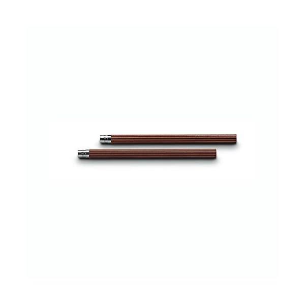 Faber-Castell – Lápices de recambio para Lápiz Perfecto (5 unidades), color marrón