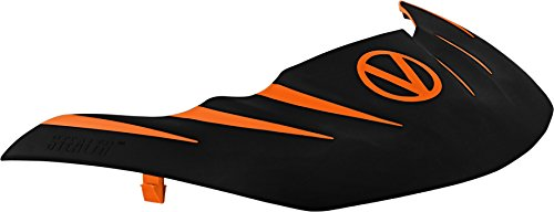 Stealth Paintball Maske Visier für Virtue VIO Contour/erweitern/Dye I4/Empire E-Flex-/V-Force Grill/Profiler und mehr, Orange / Black (Flex-7 Objektiv)