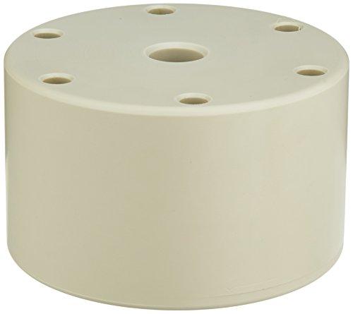 neoLab 1-2129 Ständer für Impfösenhalter, PP, rund für 6 Impfösenhalter, 100 mm Durchmesser