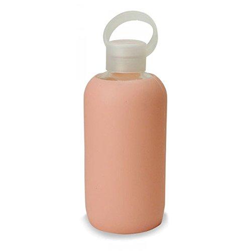 BKR Bottiglia in vetro con rivestimento in silicone-3 colori disponibili. pesca