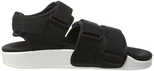 adidas Adilette, Sandali Aperti Donna Nero (Core Black/core Black/ftwr White)