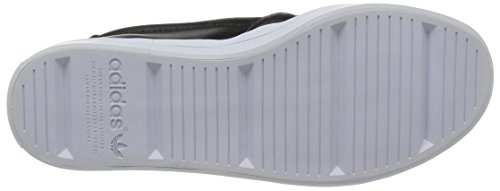 Adidas Courtvantage Slip On W, nero / nero / bianco, 6 Us Nero/Nero/Bianco