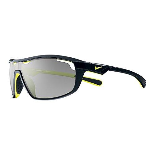 Nike Herren Sonnenbrille Vision Road Machine black/voltage